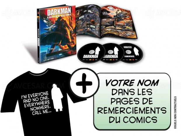 Darkman: bientôt un coffret Blu-Ray ultime pour le film de Sam Raimi