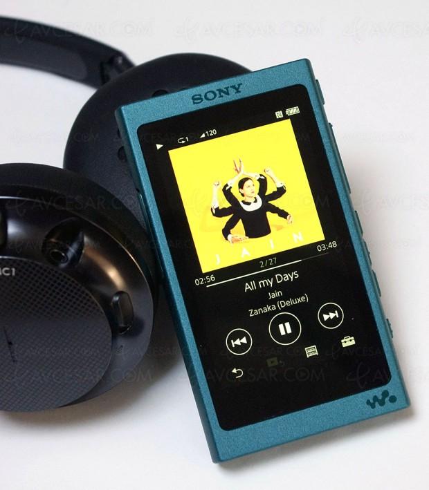 Test baladeur Walkman Sony NW‑A35, en ligne