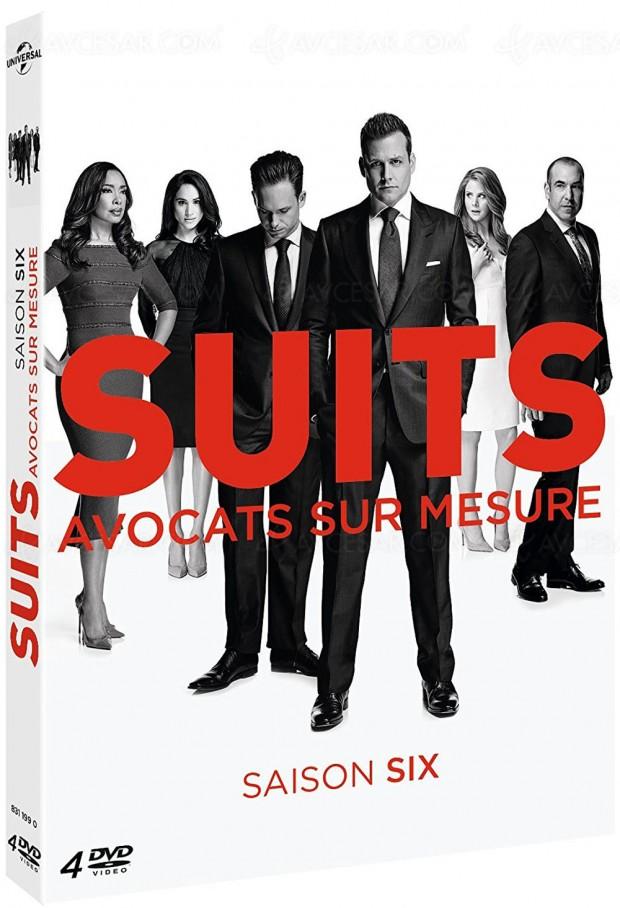 Suits saison 6 en DVD, des avocats et une future princesse ?