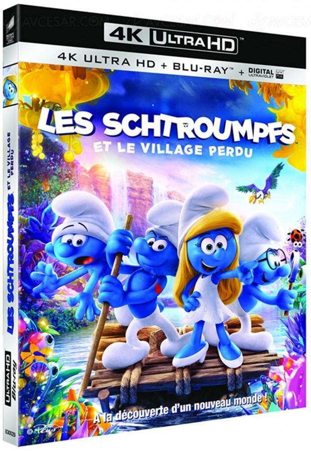 Les Schtroumpfs et le village perdu : les enfants aussi ont droit à la 4K Ultra HD
