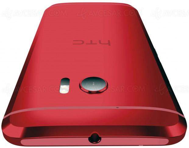 HTC U11, version rouge solaire