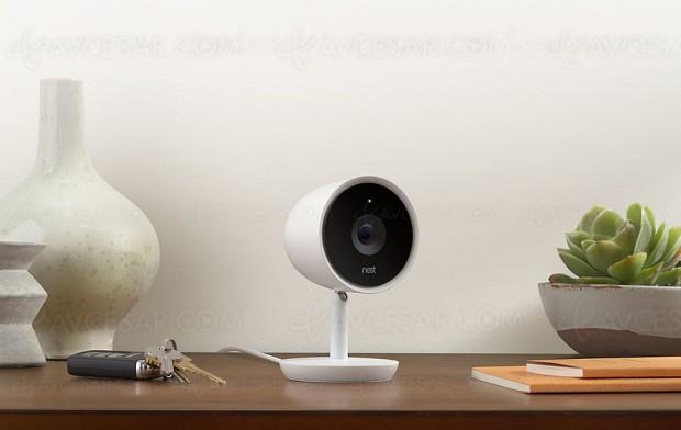 Nest Cam IQ Indoor, surveillance (très) haute qualité