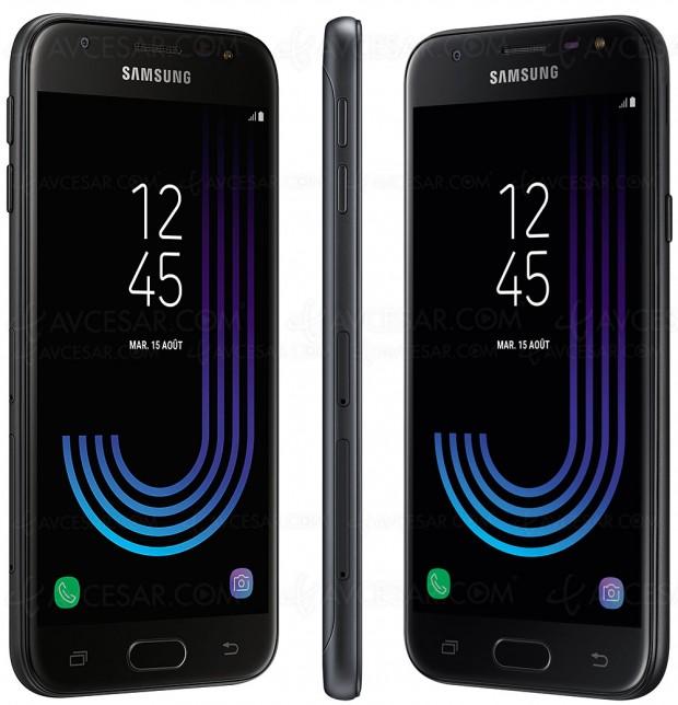 Samsung Galaxy J3, smartphone entrée de gamme en approche