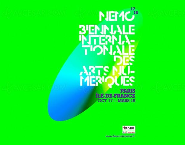 Biennale internationale des arts numériques Némo 2017-2018