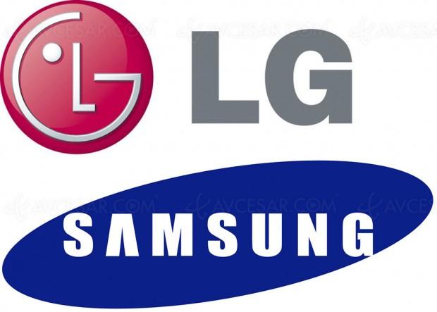 La production de dalles LCD LG pour les téléviseurs Samsung débute dès ce mois de juillet