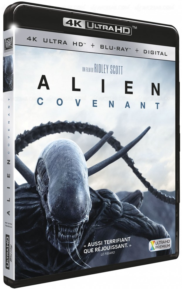 Alien Covenant 4K Ultra HD Blu-Ray : J-9