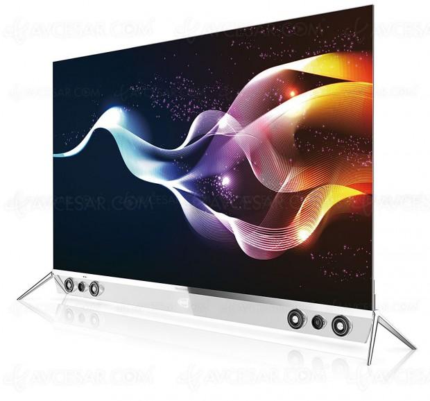 TV Oled Ultra HD plat Skyworth 65S9300, un nouvel acteur sur le marché TV Oled en France