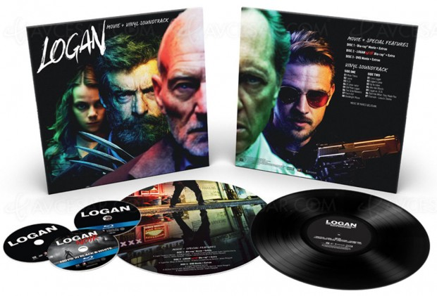 Deadpool, Logan, Kingsman, La planète des singes… éditions Collector vinyle + Blu‑Ray + DVD