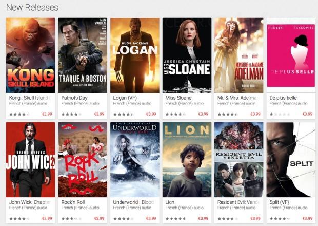 Les contenus HDR arrivent sur le service de streaming Google Play