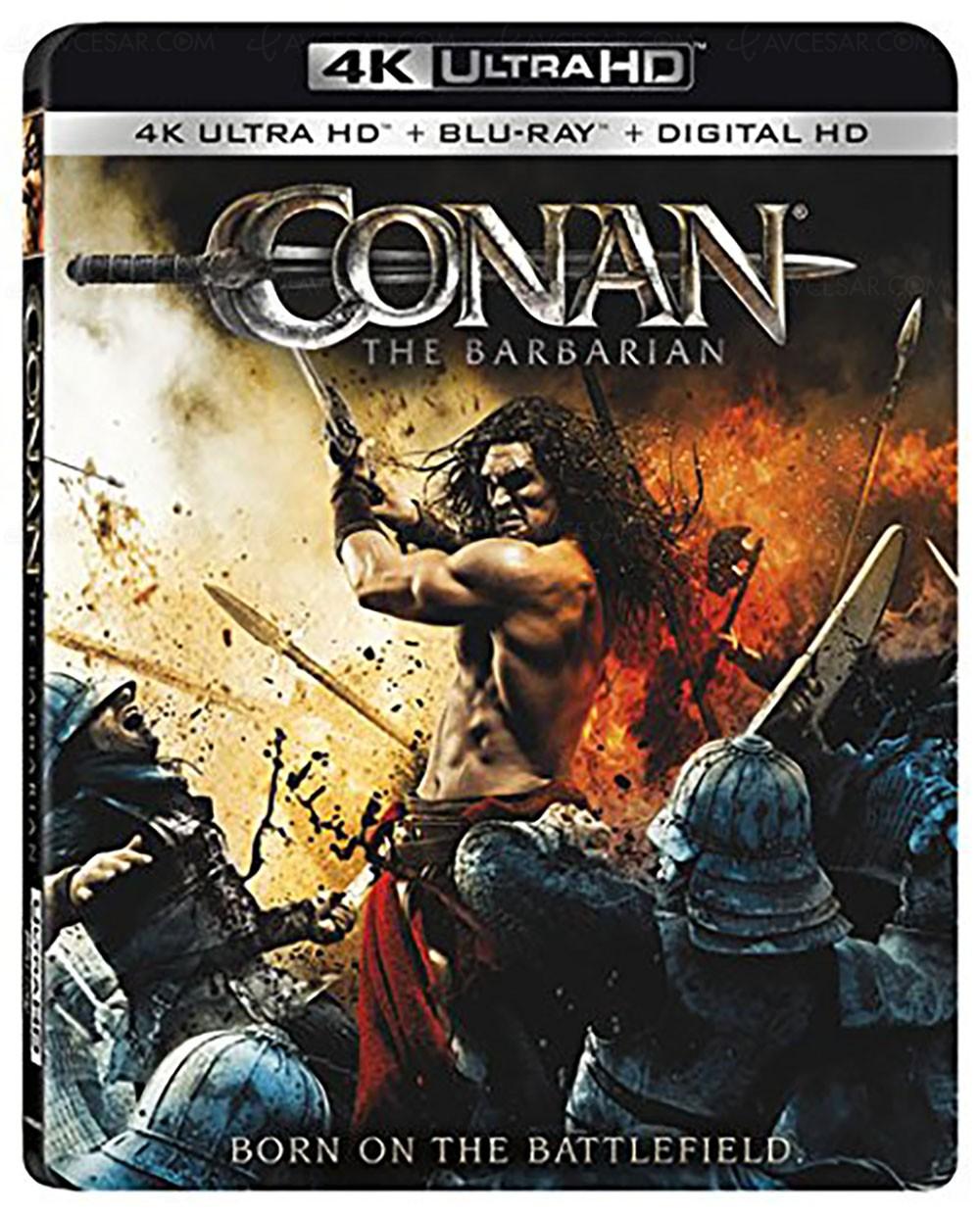 Conan 2011 Minimalist conan et la légende d'hercule en 4k ultra hd blu‑ray et dolby