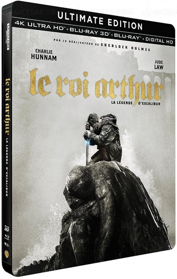 Le roi Arthur : la légende d'Excalibur, le plein de bourre‑pif en 4K Ultra HD Blu‑Ray