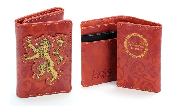 Portefeuilles Game of Thrones, un Lannister paie toujours ses dettes