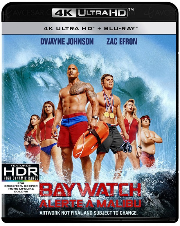 Le reboot de Alerte à Malibu prolonge l'été en 4K Ultra HD Blu‑Ray