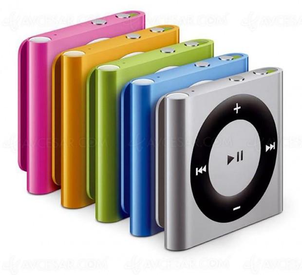 Apple iPod Nano et Apple iPod Shuffle, c'est fini