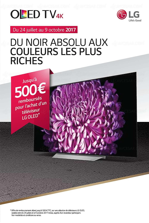 offre de remboursement tv oled lg jusqu 39 500 rembours s. Black Bedroom Furniture Sets. Home Design Ideas