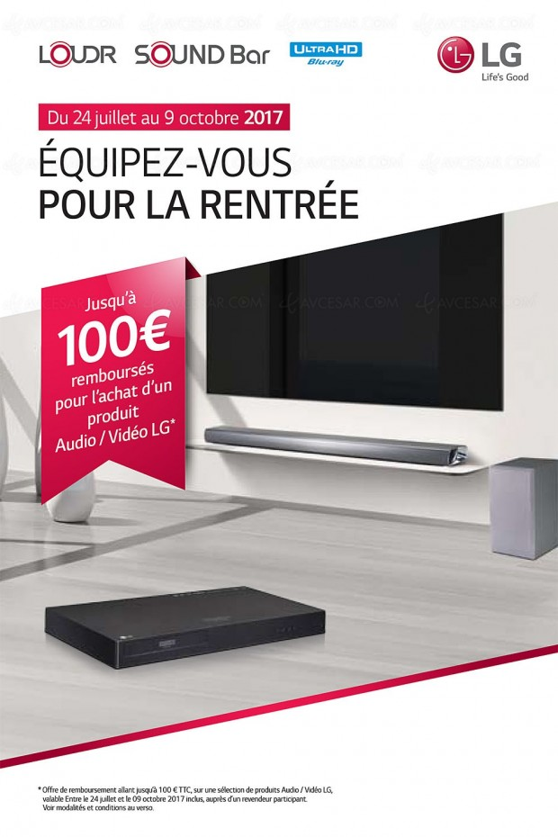 offre de remboursement lg platine ultra hd blu ray mini cha ne ou barre sonore jusqu 39 100. Black Bedroom Furniture Sets. Home Design Ideas