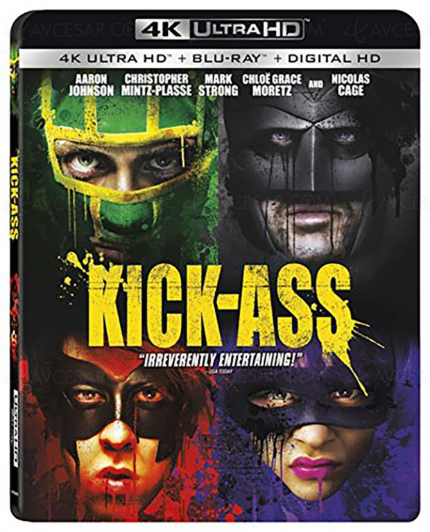 Kick-Ass va tout fracasser en 4K Ultra HD Blu-Ray