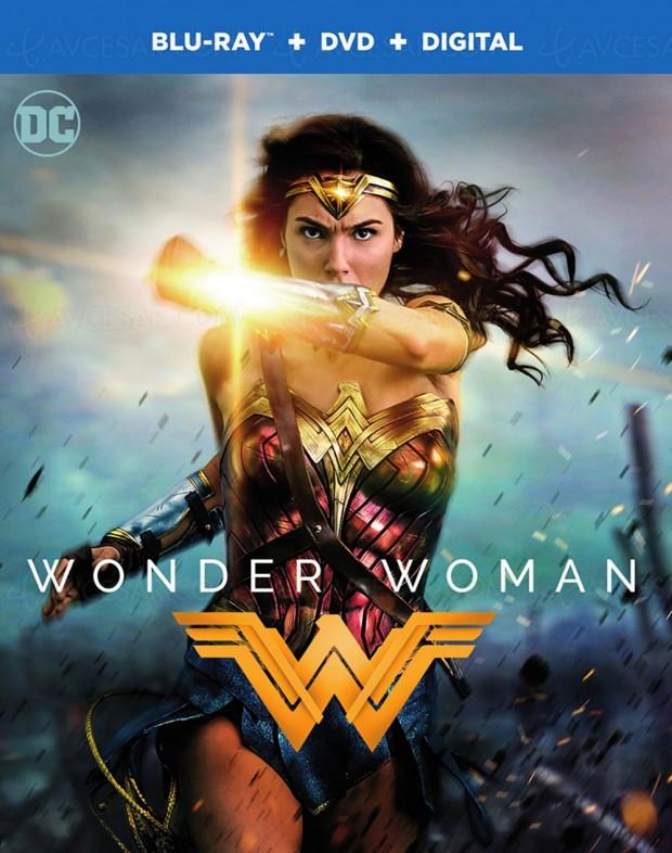 Wonder Woman, l'autre princesse Diana en 4K Ultra HD Blu‑Ray