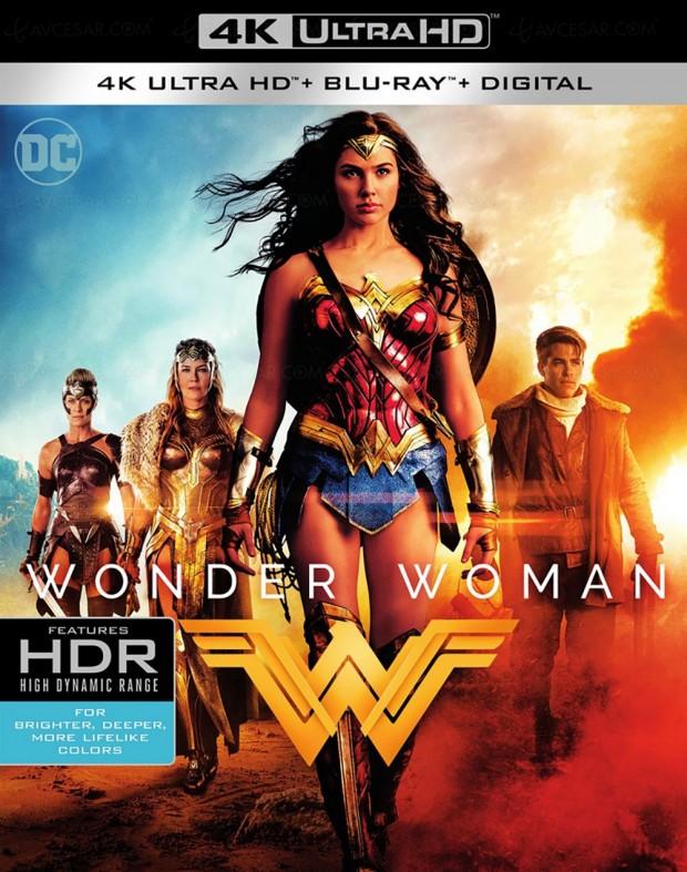 Wonder Woman, l'autre princesse Diana en 4K Ultra HD Blu-Ray