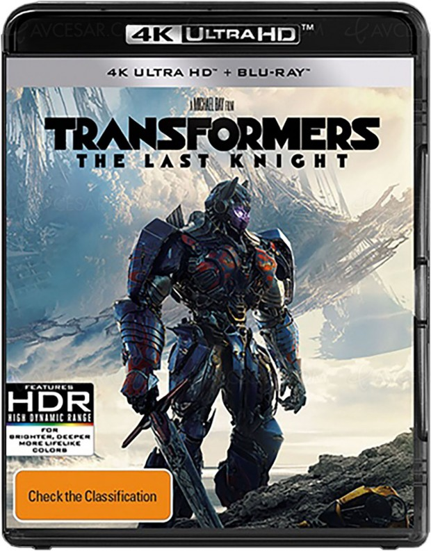 Transformers : the Last Knight, premier titre 4K Ultra HD Blu‑Ray Dolby Vision signé Paramount