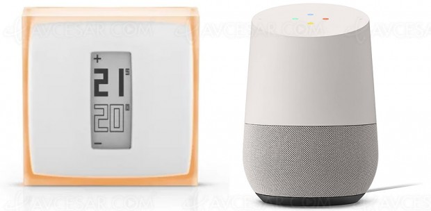 Thermostat Netatmo désormais compatible Google Home