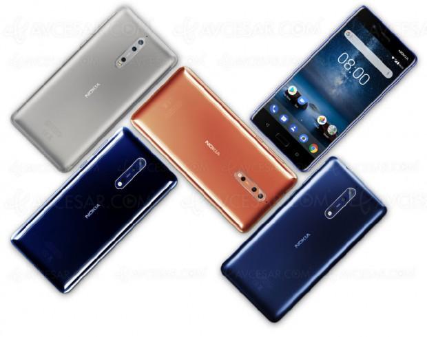 Smartphone Nokia 8, à l'assaut de Samsung et Apple