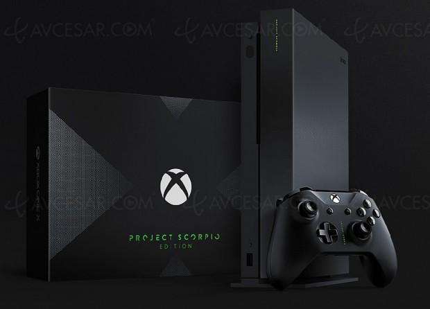 Xbox One X édition « Project Scorpio » à réserver immédiatement…