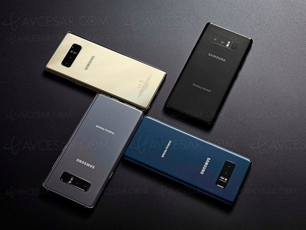 Samsung Galaxy Note 8, toujours plus grand et HDR10