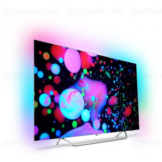 IFA 17 > TV Oled Philips 55POS9002F Ultra HD Premium, moins de 2 500 €