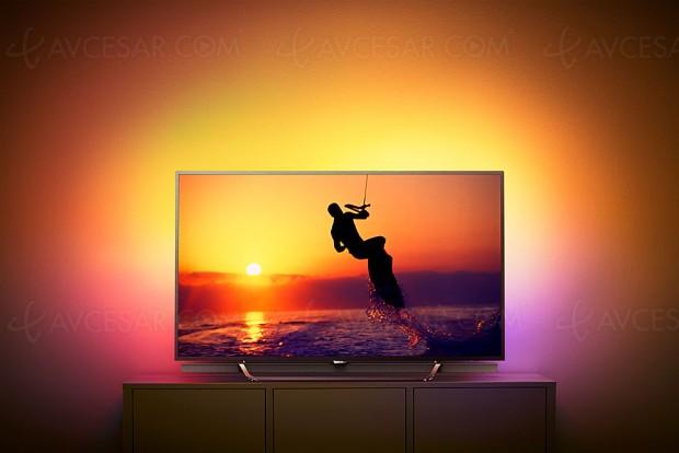 IFA 17 > TV LED Ultra HD Philips PUS8602 Quantum Dots, 55'' au programme et 1 100 nits