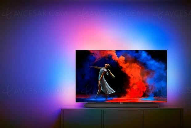 IFA 17 > TV Oled Philips série 9 Ultra HD Premium, processeur P5, Ambilight et barre sonore 6.1 60 W