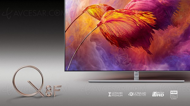 IFA 17 > TV LED Ultra HD Samsung Q8F, 55
