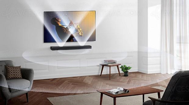 IFA 17 > Samsung HW-MS750, barre de son Sound+ plane