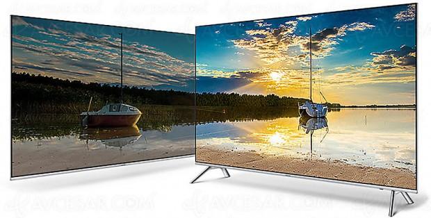 TV LED Ultra HD Samsung MU7005, mise à jour prix indicatif