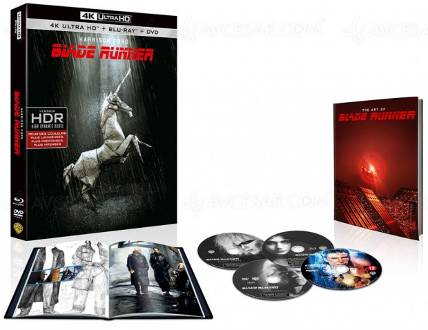 Pour son 35e anniversaire, Blade Runner s'offre une édition 4K Ultra HD Blu-Ray Final Cut Collector