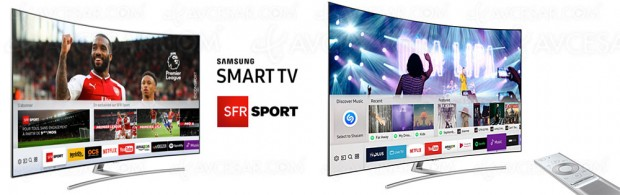 Contenus Ultra HD, SFR Sport, Shazam… L'offre Samsung Smart TV s'étoffe
