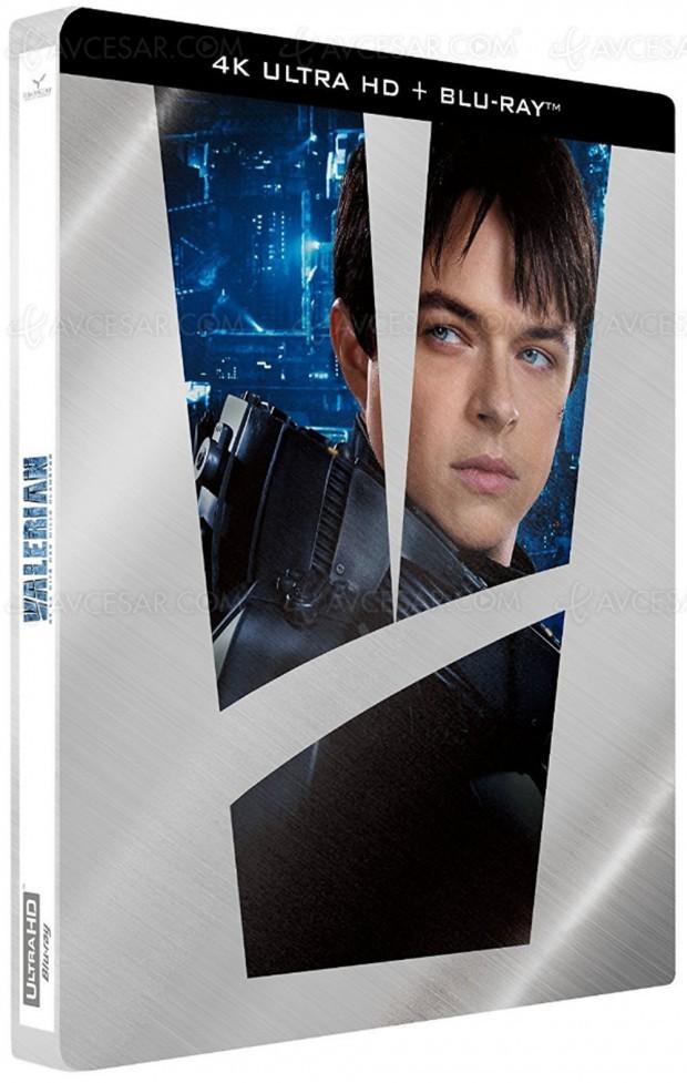 Valérian et la cité des mille planètes, sortie confirmée le 4 décembre en 4K Ultra HD Blu‑Ray