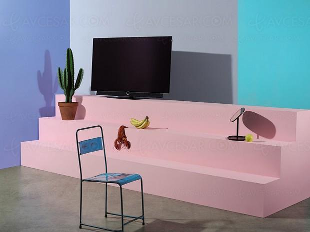 IFA 17 > TV Oled Ultra HD plat Loewe Bild 4.55 (55'') annoncé
