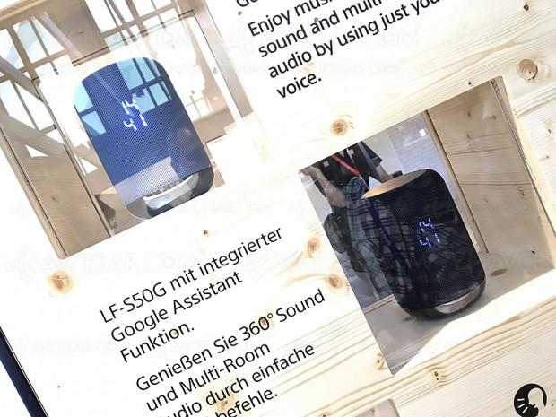 IFA 17 > Enceinte connectée Smart Home Sony LF‑S50G avec Google Assistant