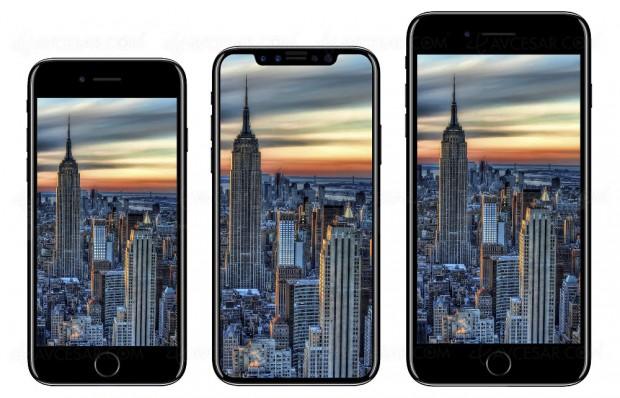iPhone Oled 2018, modèle plus grand 6,46'' déjà sur les rails ?