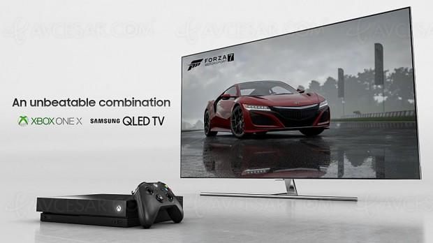 IFA 17 > TV Ultra HD QLED Samsung et Xbox One X partenaires aux US