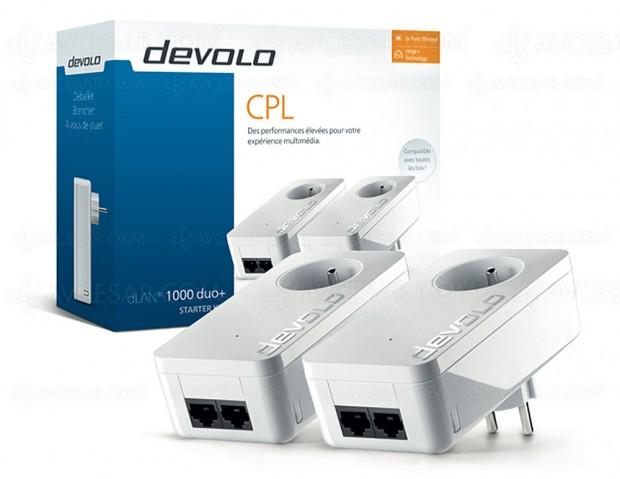 IFA 17 > Nouveaux adaptateurs CPL Devolo dLan 1000 duo+ Gigabit