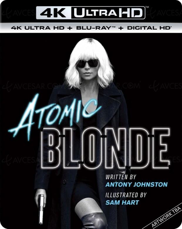 Atomic Blonde 4K, Berlin nid d'espions