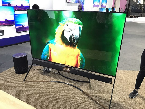 IFA 17 > TV QLED TCL X6 85'', le téléviseur Direct LED 600 zones le plus fin au monde