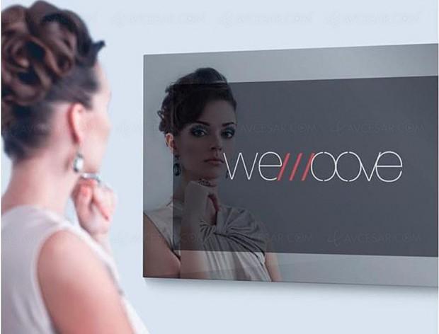 Wemoove présente une Smart TV Android 4K miroir 84'', le plus grand du monde