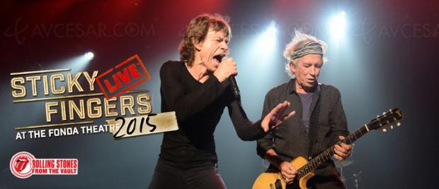 Les Rolling Stones rejouent leur classique Sticky Fingers