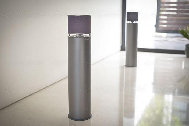 X-Mini Click 2 et X‑Mini Infiniti, enceinte design sans‑fil nomade et son à 360°