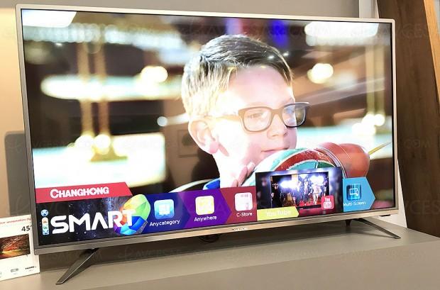 IFA 17 > TV LED Ultra HD Chiq E6000, quatre diagonales en approche