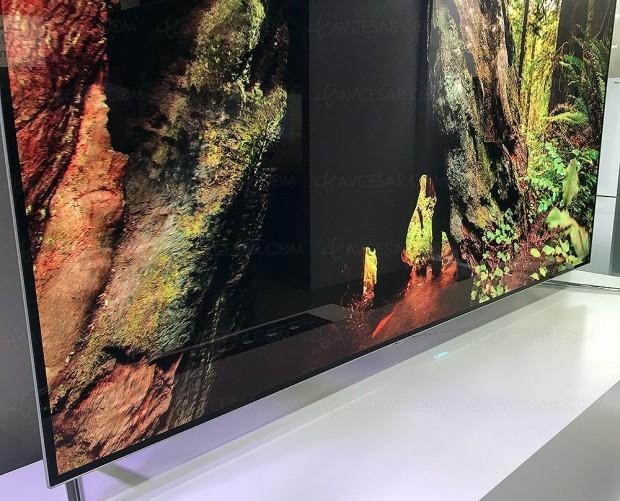 IFA 17 > Nouveauté design TV chez ChangHong, le logo projeté…