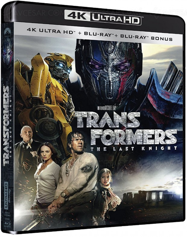 Transformers :the Last Knight, Dolby Vision et Dolby Atmos pour le 4K Ultra HD Blu‑Ray
